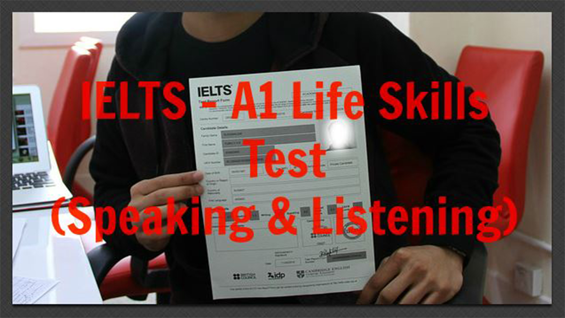 IELTS – A1 Life Skills Test (Speaking & Listening)